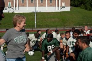 Nichols college Football Team