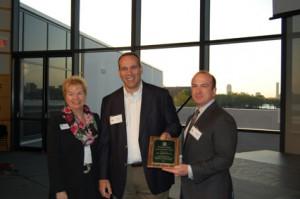 EJ Landry Receiving Award