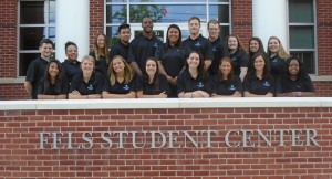 group photo of orientation leaders